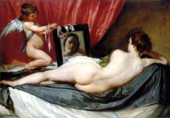 venus at her mirror Velzquez