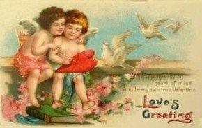 Valentine love greetings