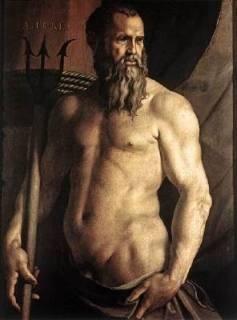 Portrait of Andrea Doria as Neptune Agnolo Bronzino