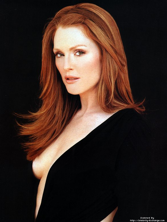 Actress Julianne Moore. There is a short ad before this clip, but I ...