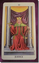 Dixie's Daily Tarot, October 5, 2010: Justice Without a Fight