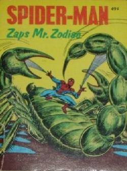 scorpio spiderman cover vintage