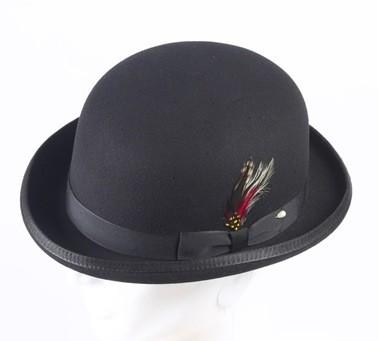 bowler derby hat