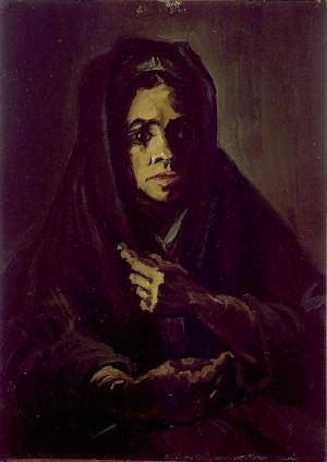 woman-with-mourning-shawl-Van-Gogh-