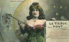 virgo card girl