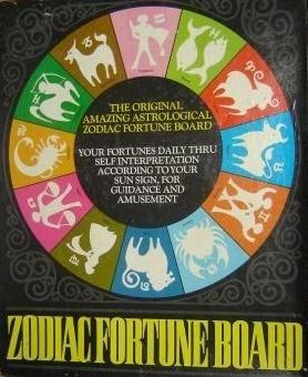 zodiac fortune board vintage