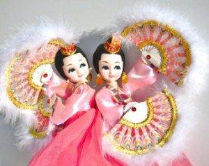 gemini twin dolls