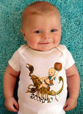vintage scorpio baby