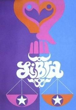 libra poster 1970