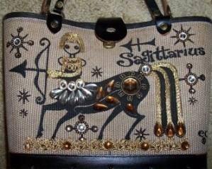 sagiattarius enid collins vintage purse