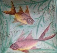 Vintge Pisces Fish Ashtray