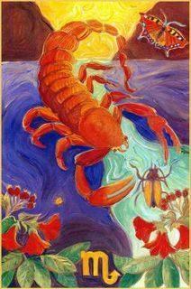 scorpio poster vintage