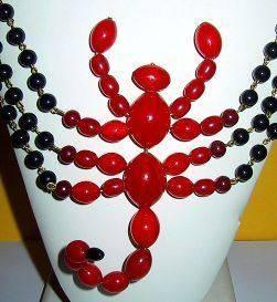 scorpio costume jewelry vintage