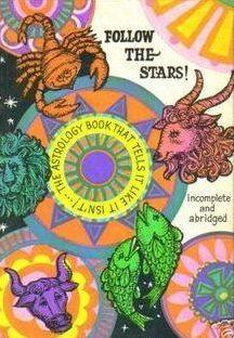 vintage zodiac book
