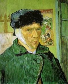 Van Gogh Self-Portrait with Bandaged Ear
