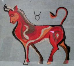 taurus-folk-art