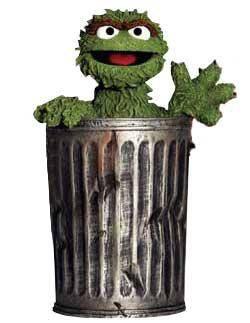 Oscar trash can