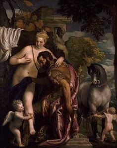 Mars and Venus United by Love, Paolo Veronese, 1528-1588, Oil on canvas