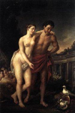 Venus showing Mars her doves