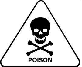 poison skull and bones