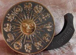 vintage zodiac tape dispenser