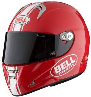 Red bell helmet