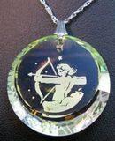 Vintage Sagittarius pendant