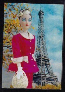 libra postcard