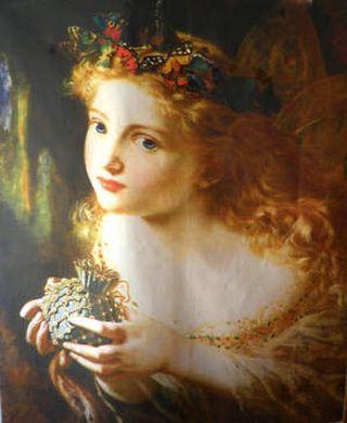 Fairy painting
