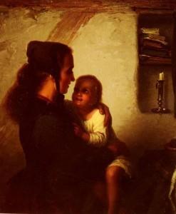 Johann Georg Meyer von Bremen Maternal Bliss
