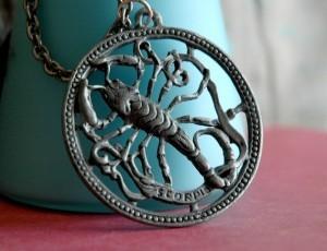 scorpio necklace nice
