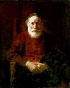 Rembrandt van Rijn Portrait of an Old Jewish Man