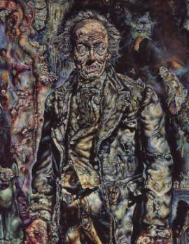 Dorian gray painting