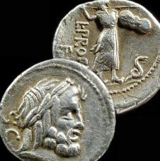 old Jupiter God coin