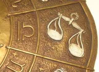 Libra scales wirh symbol gold vintage