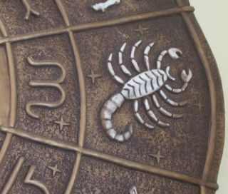 Scorpio with symbol vintage