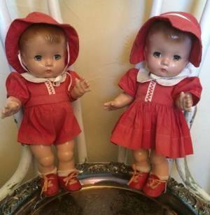 gemini vintage dolls efanbee 1940s