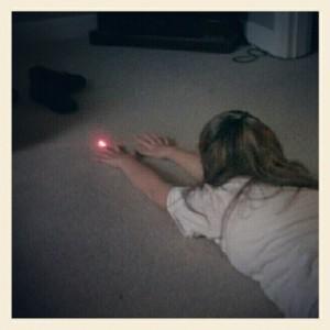 Pointeur laser Jane