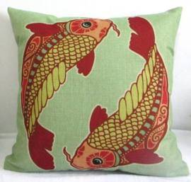 pisces fish pillow