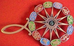 Vintage zodiac trivet
