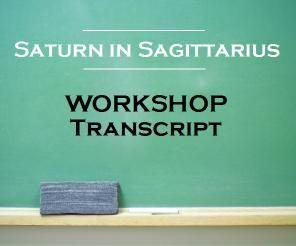 Saturn in sagittarius green