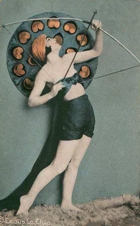 sagittarius vintage girl