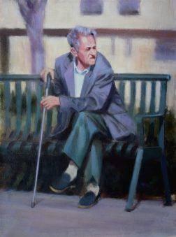 Old man by Buz Tafoya