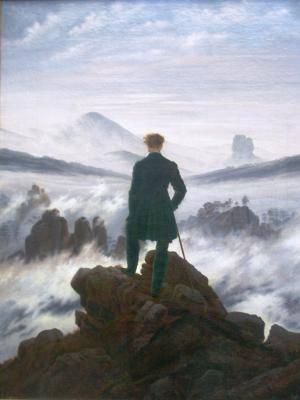 Caspar David Friedrich Wanderer Neptune