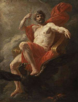 jupiter enthroned