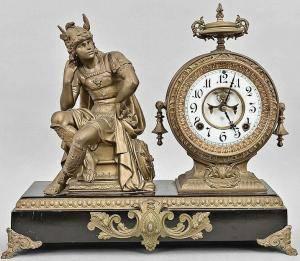 Mercury clock ansonia