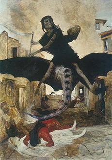 The Plague, 1898 Arnold Böcklin