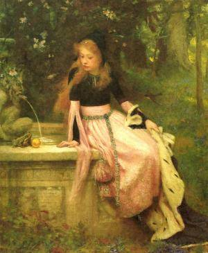 fairy painting Venus Neptune