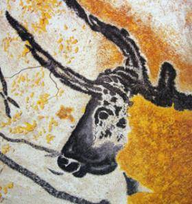 Taurus bull black and yellow