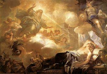 Luca Giordano Dream of Solomon
